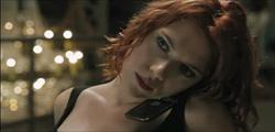 black widow in avengers movie clip image