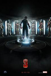 iron man 3 movie poster image