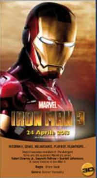 iron man 3 teaser movie poster image