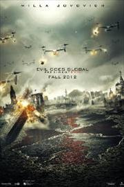 resident evil 5: retribution movie poster image