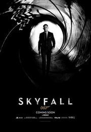 skyfall movie poster image